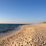 Lithuania has 99 kilometers of sandy coastline.