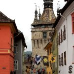 Sighisoara is a great example of a fortified medieval town